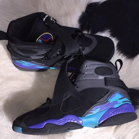 fe9df3b9ed Nike Shoes | Air Jordans 8 Retros Gs Aqua 8s 2007 | Poshmark